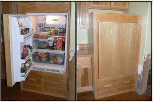 refrigerador hecho en casa